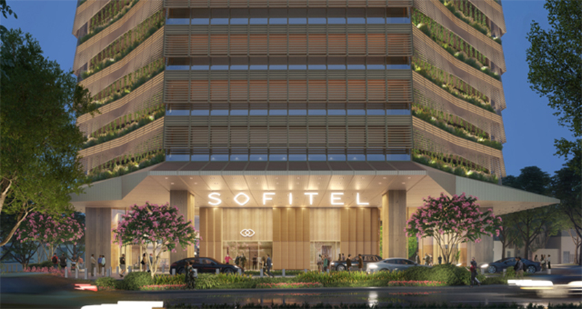 The 195-key hotel is set for Cebu Business Park, adjacent to many retail amenities.