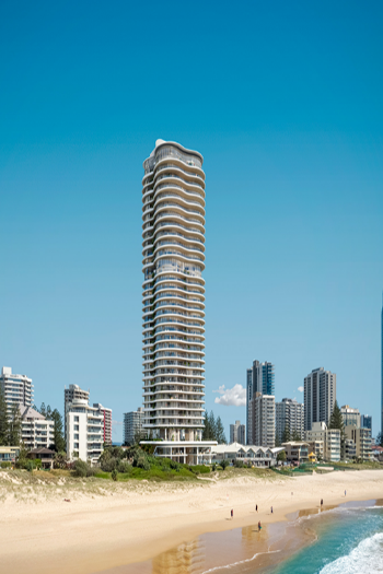 Coast will replace a 10-story apartment block in Surfers Paradise. Image credit: Sammut Developments