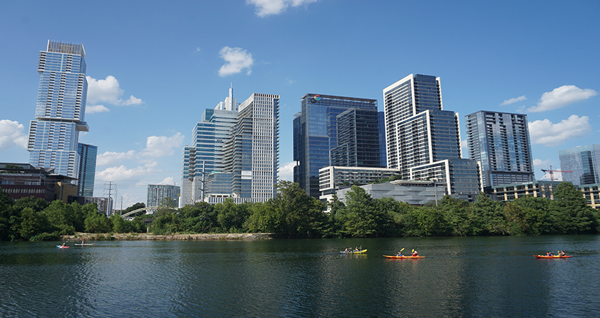 Cielo Property Group proposes to build two office buildings in Austin, Texas. Image credit:  Michael Barera