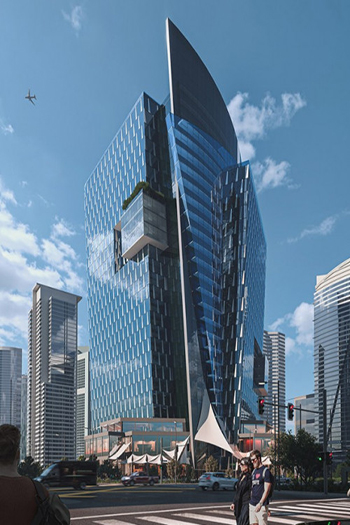 Podia Tower will be located in the downtown area of Egypt's New Administrative Capital. Image credit: Pinnacle Real Estate Investment