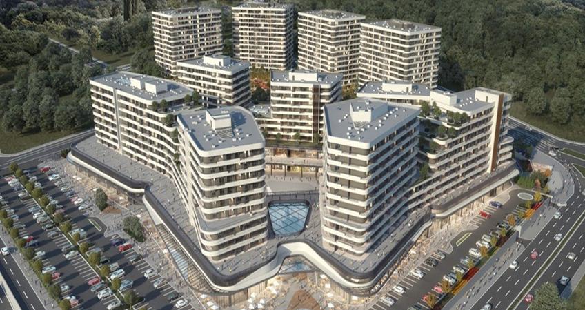 Velux Ankara will deliver 1000 apartments and 133 retail spaces. Image credit: Fırat Life Style/Atayıldız Group/Acity