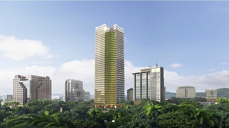Masters Tower Cebu in Cebu will house a Sofitel hotel and office space. Image credit: SOM