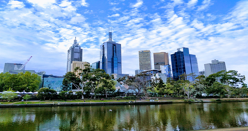 In Melbourne,  stage one of Queens Place has been completed. Image credit: Photo by Ayush Jain on Unsplash