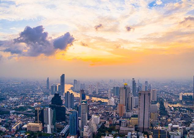 In Bangkok, the KingBridge Tower office project is getting underway. Photo by Waranont (Joe) on Unsplash
