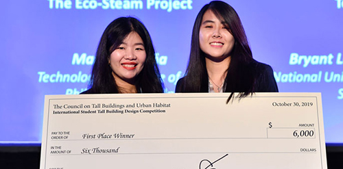 Image of 2019 Student Research Competition Winner Mandana Bafghinia.